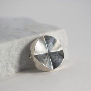 Silver brooch from Georg Jensen