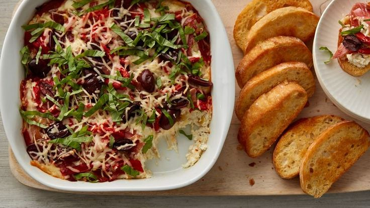 Dips are every holiday party's must-have! They're downright addicting, easy to make and can be served with everything from veggies to chips (we love Food Should Taste Good multigrain chips) for a party appetizer that everyone will love.<br/>
