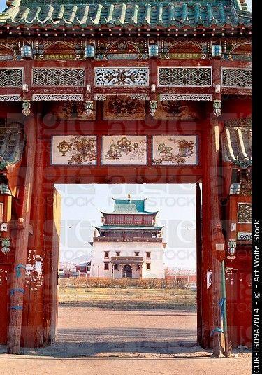 Monasterio de Gandan, Ulán Bator, Mongolia