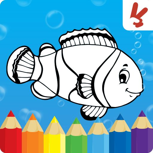 c l o v e r coloring games for kids animal v130 apk free dow - Free Coloring Games Download