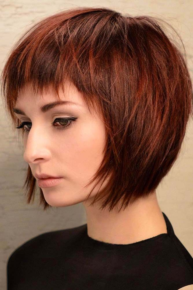 Impressive Short Bob Hairstyles To Try Lovehairstyles Com Thick Hair Styles Short Bob Hairstyles Short Layered Haircuts
