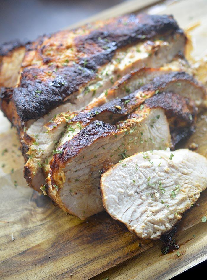 Air Fryer Turkey Breast – Recipe Diaries #AirFryer #turkeyrecipe #ThanksgivingRecipes #thanksgivingturkey