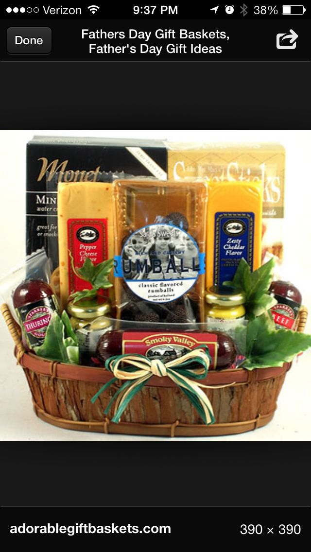 68 best gift baskets images on pinterest creative gifts dad gift basket ideas negle Images