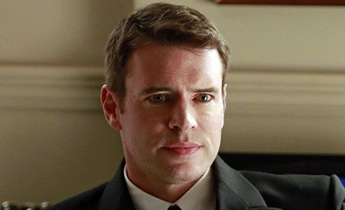 "The last image of Scott Foley on ""Scandal"" this season was of his character, Jake Ballard, being thrown into an underground cell. That won't be the last we see of him, though, because he's been promoted to a regular member of the cast."