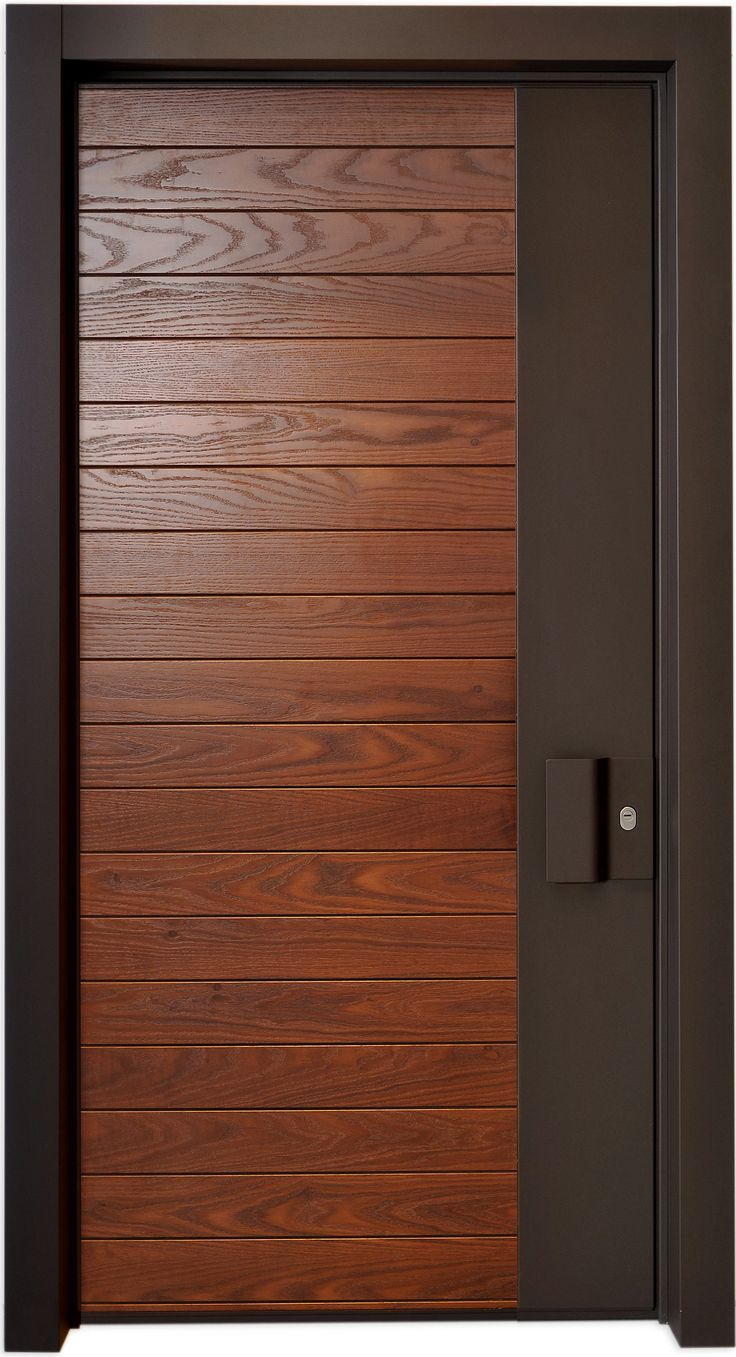 The alicante door is a classic combination between cold for Modern wooden main door design