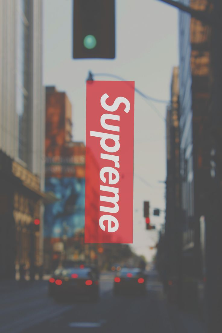 supreme x streets