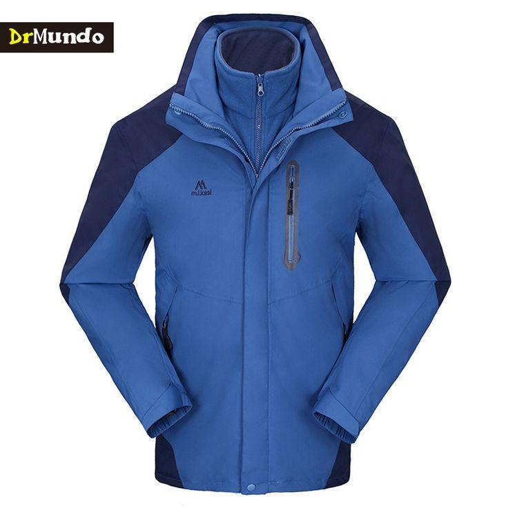 69.88$  Buy now - http://ali1n6.worldwells.pw/go.php?t=32763586228 - DrMundo Plus Size ski jacket men fleece windstopper snowboard jacket snow jackets waterproof hiking ski suit height 195cm 69.88$