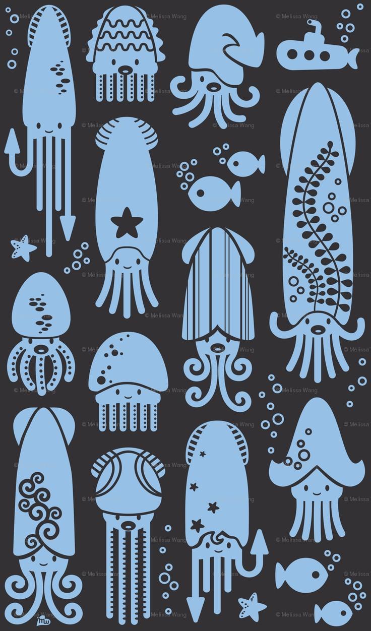 Cute squids!