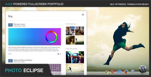 PhotoEclipse - Ajax Powered Portfolio WP Theme - ThemeForest Item for Sale