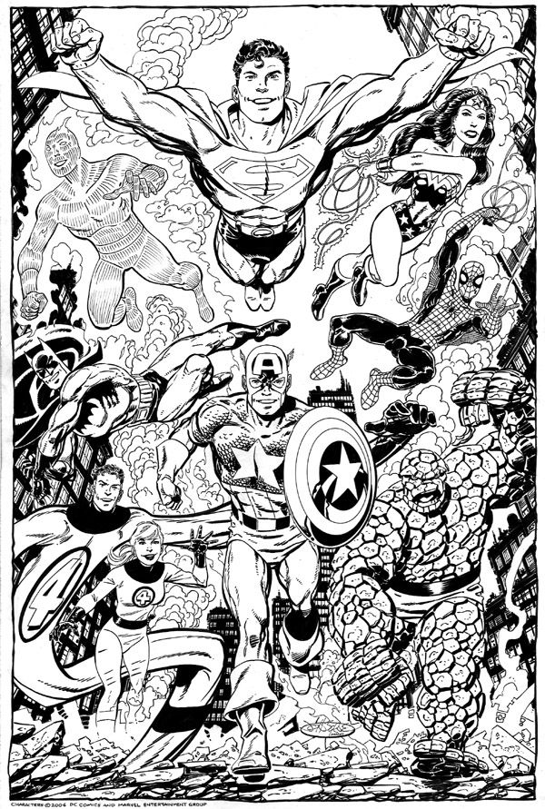 marvel coloring pages for adults - photo#30