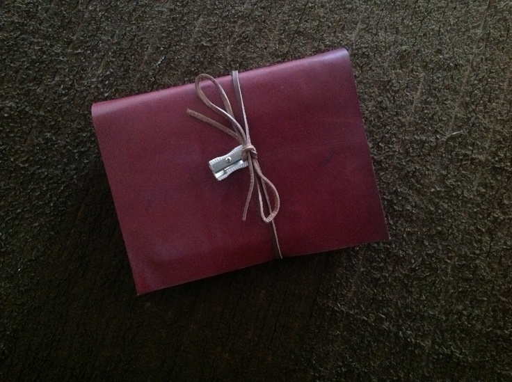 For my brother Paul, first ever leather bound journal for me...