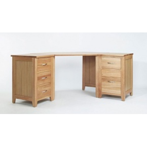 Cambridge Oak Home Office Corner Set CH04, CH05 & CH06  www.easyfurn.co.uk