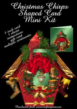 Christmas Chirps  on Craftsuprint - Add To Basket!