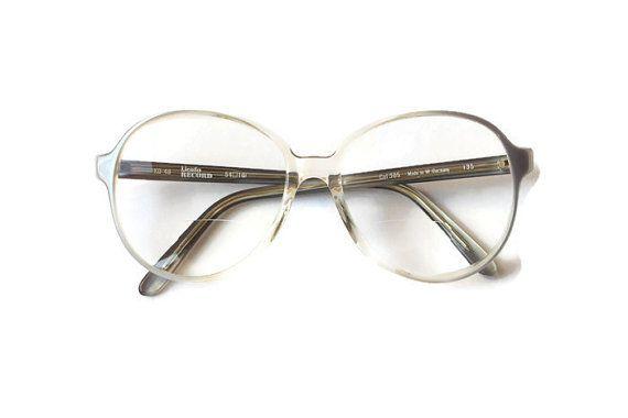 Brille blau Creme Frauen Brille rund Shades von ClassicalSense