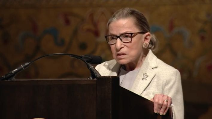 Our Hero Justice Ruth Bader Ginsburg Has Some Great Advice for Us