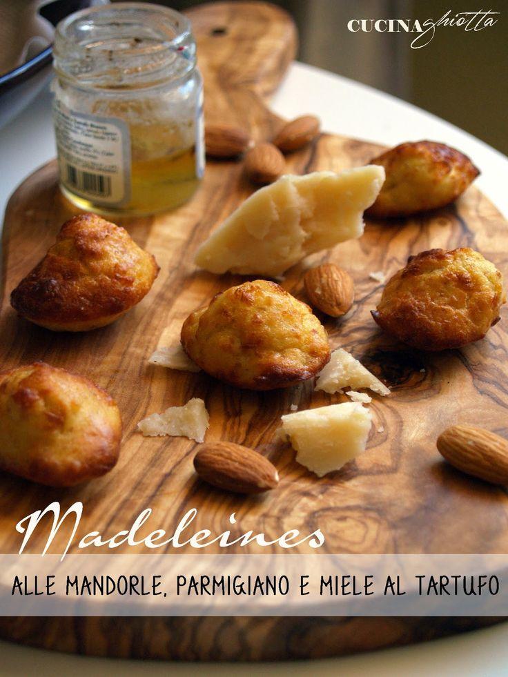 Madeleines salate al tartufo   CUCINA GHIOTTA