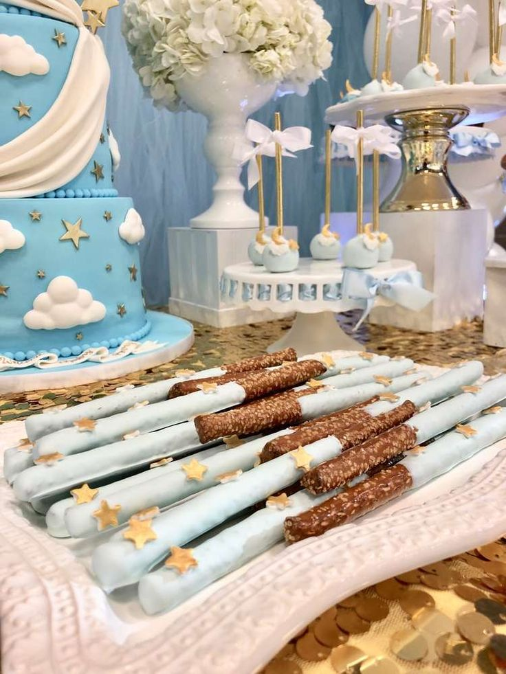 Twinkle Little Star Baby Shower Party Ideas | Phot…