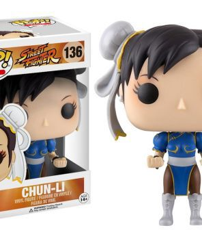 vi no enjoei: Chun-li Street Fighter Funko Pop! Games