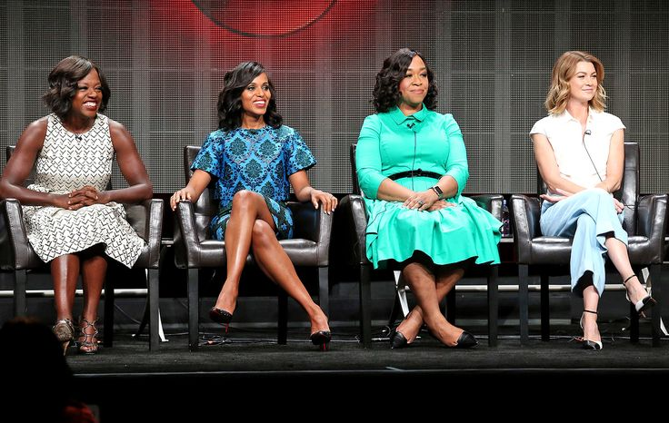 The creative minds behind ABC's hottest night of TV—fondly referred to as TGIT—offered up some rare scoop on the upcoming seasons of Grey's Anatomy, Scandal, and How to Get Away with Murder at the Television Critics Association's semi-annual press tour on Tuesday. Without further ado:  1. Grey's will have a lighter tone this year as the season's theme is rebirth. The show is also jumping ahead three months.