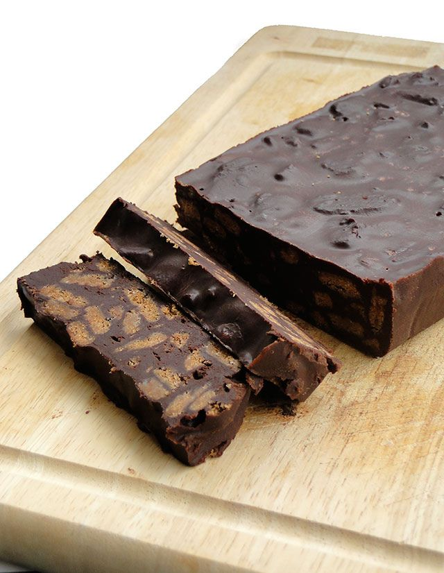 Chocolate Terrine!  A must try for chocolate lovers!  Even if you're not supposed to eat chocolate. :)