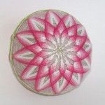 Basic temari patterns: kiku (chrysanthemum) | Happy Stitch