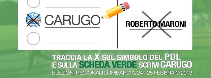 come votare alle #elezioniregionali #Lombardia #Carugo #Brianza