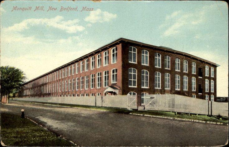 Nonquitt Mill New Bedford Massachusetts MA ~ c1910  | eBay