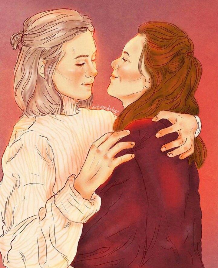 Eva and Noora | skam