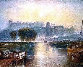 Windsor Castle - Joseph Mallord William Turner, 1775-1851 - OldMastersOnline.com