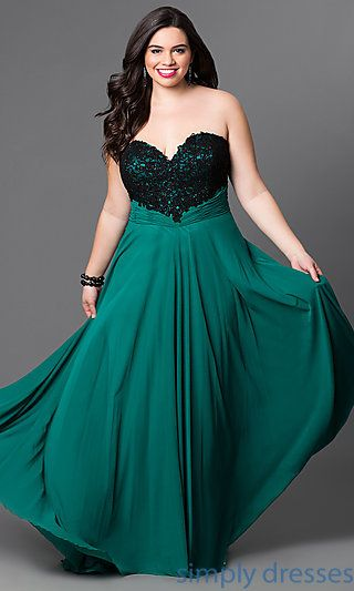 10 Best images about Plus size Formal Gown &amp Dresses on Pinterest ...