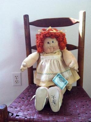 1984 Original Cabbage Patch Doll soft sculpture Babyland General Xavier Roberts $0.99