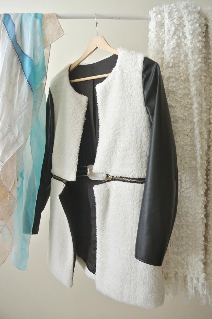 detacheable bottom blazer, spring / summer 2013  99€