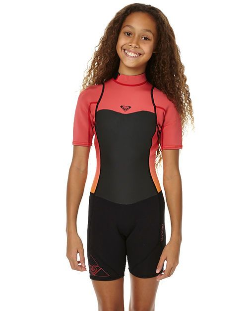 Features Type: Girls Wetsuit Colour: Paradise Pink Neoprene: F'n Lite neoprene Thickness: 2x2mm Entry System: Back zip  Seam + Stitching: Flatlock stitched seams Temp Guide: 19 - 22 Degress Detail: Vaporstretch meshSize + Fit Guide Please refer to size chart for more information Temperature Guide: If youre not sure of the most appropriate thickness for your region, use the below as a guide against the average water temperature for the time of year you are buying the suit for. Rememb...