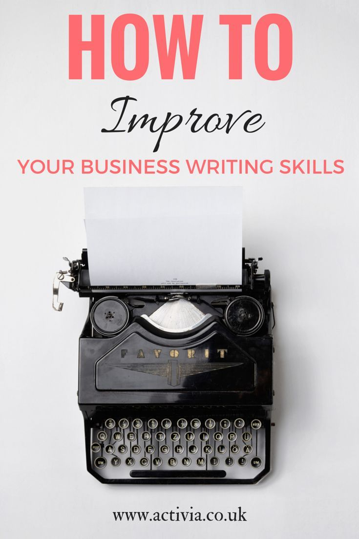 Ideas About Business Writing Skills On Pinterest Writers baaddcdb Business Writing Skills