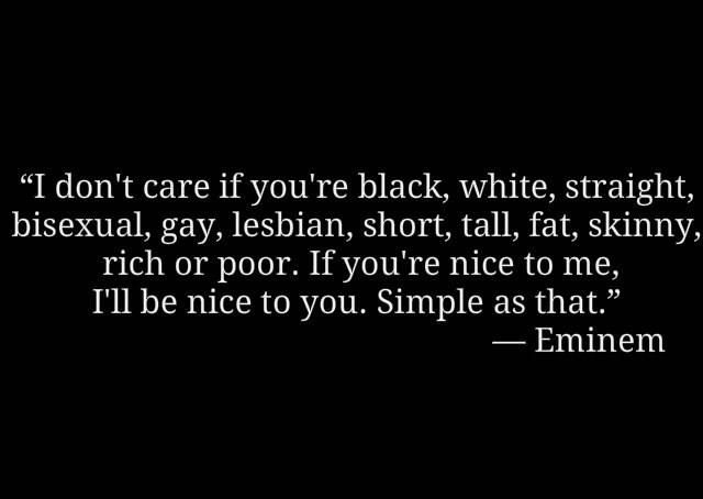 eminem quotes i dont care if your - photo #9