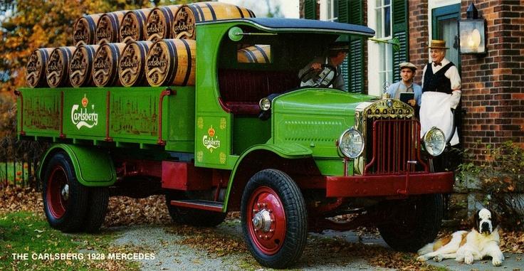 1928 Mercedes Truck, Carlsberg Beer