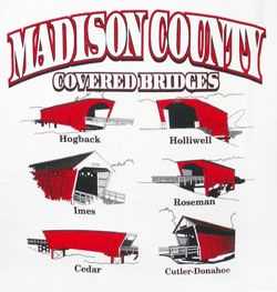 covered bridges of Madison County iowa -