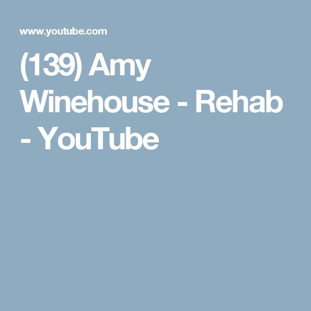 (139) Amy Winehouse - Rehab - YouTube