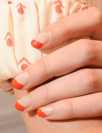 Nails That Will Make Everyone Jealous - DailyMakeoverNails Design, Miller Nails, Fun French Manicures, Holiday Fun, Catwalks Nails, Diagon French, Nails Ideas, French Tips, Cool Nails