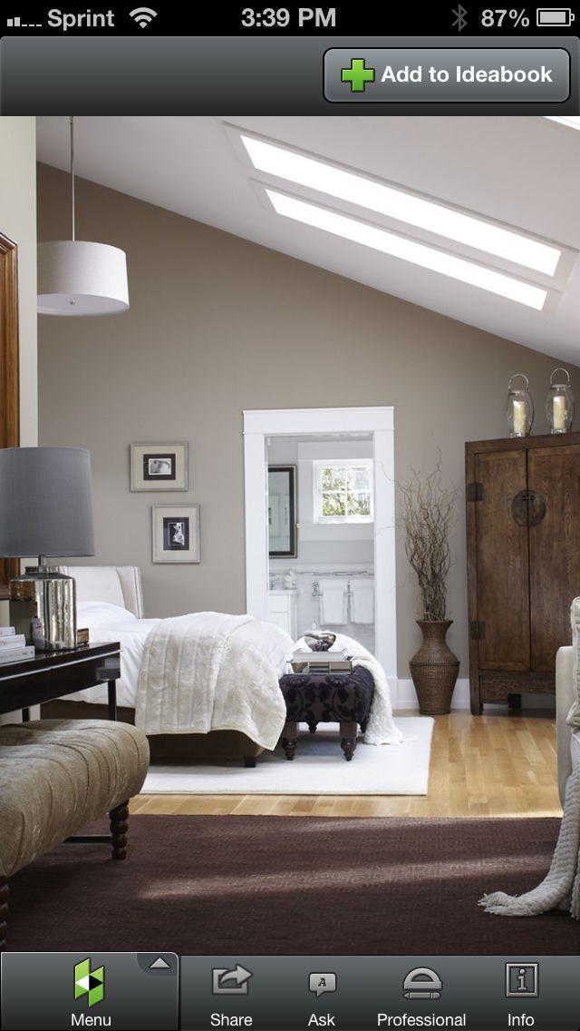 schlafzimmer badezimmer wandfarben schminktisch beleuchtung wandfarbe farbtne wohn design kammer dachgeschoss farbkombinationen