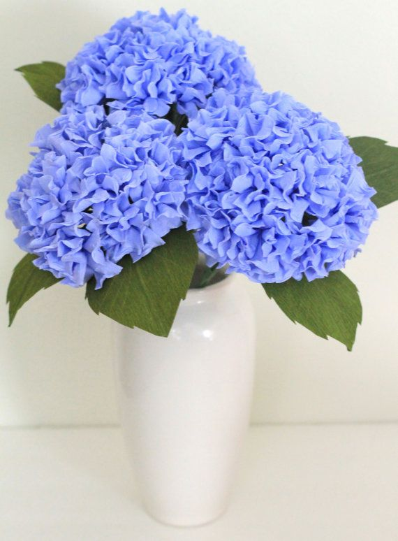 Paper Hydrangea For Wedding Table Decoration And Home
