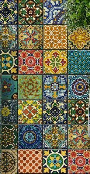 Amazing handmade tiles