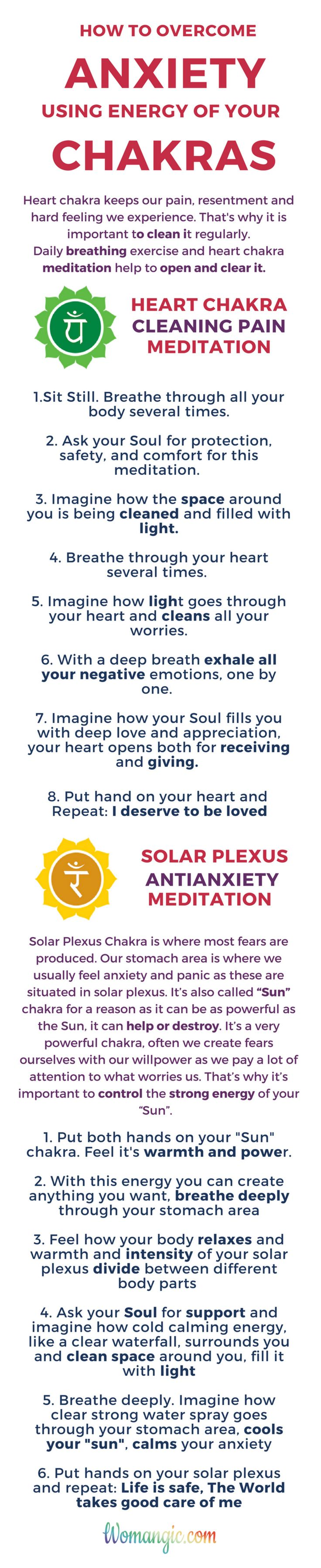 We all struggle with anxiety and panic from time to time. I believe spiritual practices meant to help us live better, so we can use them to balance and make our life happier and more fulfilled. These practices help me with worries and anxiety and I can't imagine living without them, it could be really hard when we panic, but there is a way to overcome it fast and effective, using energy of our own chakras and Soul. If you interested in this topic related reading  (link to this post).