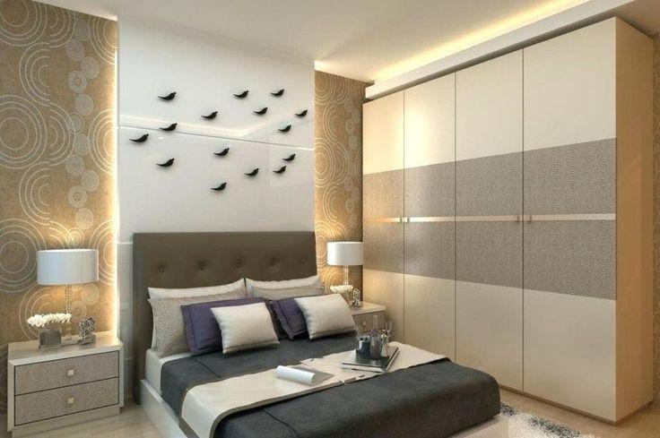 Beautiful Sliding Wooden Cupboard Design For Bedroom in ...