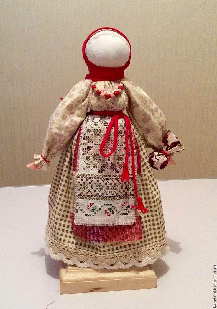 """Купить Народная кукла """"Берегиня Дома"""" - бежевый, обереги, обереги в подарок, подарок на свадьбу"""