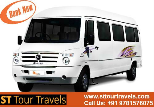 Book #Tempo #Traveller #Chandigarh #Shimla at Best Discounted Prices Visit: www.sttourtravels.com