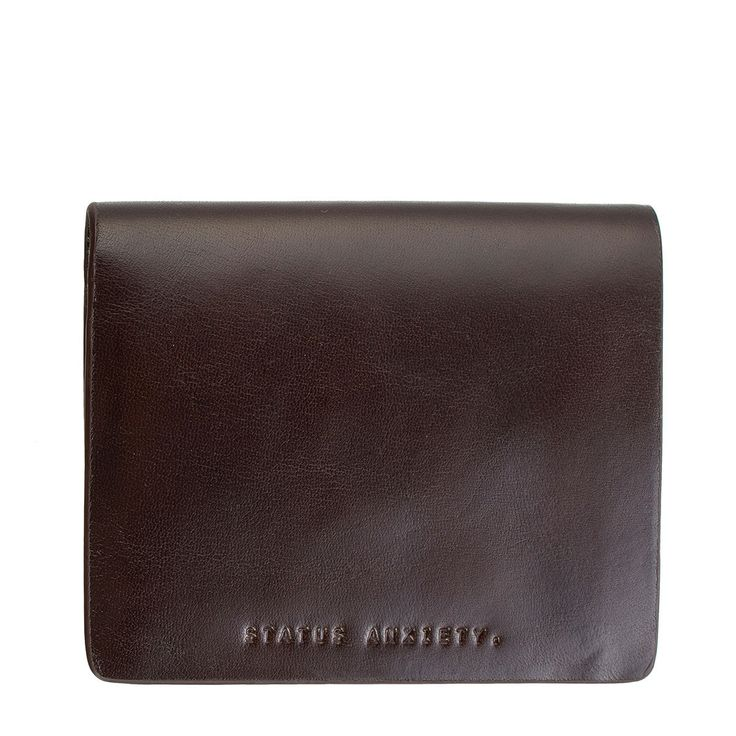 Status Anxiety - Nathaniel Wallet Chocolate Inc Free Australia Wide Delivery