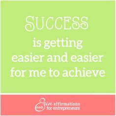 Affirmations for Self Employed Women #ecoacherin #coacherinsaffirmations http://www.ecoacherin.com