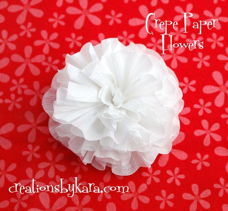 Creations by Kara: Paper Roses from Coffee Filters