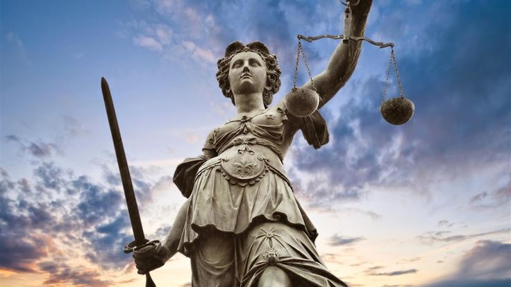 Ik heb gekozen voor een afbeelding van Vrouwe Justitia omdat Hannelore onderzoeksrechter is